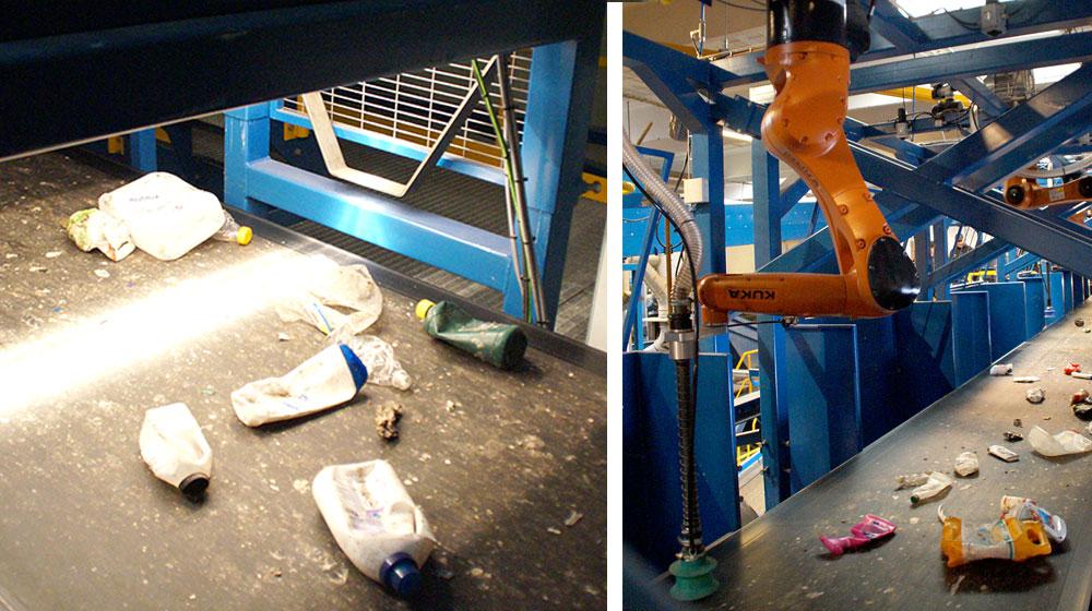 Robot sortering Nomi4s Linatech